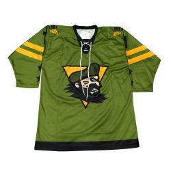 Спортивная одежда Healong оптовых хоккей износа Sublimated большого формата печати Custom мужчин в хоккей футболках NIKEID