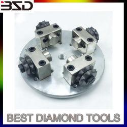 Disco di molatura automatico del diamante dello strumento del martello del Bush del carburo della stella sugli spazi esterni e creare le superfici antiscorrimento