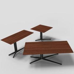 Imprimé Table basse en verre Table basse en bois modernes en marbre