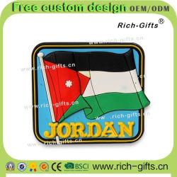 Regalos personalizados Souvenirs Imanes de nevera permanente la Bandera de Jordania (RC-JO)
