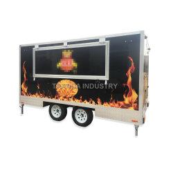 Rimorchio mobile standard dell'alimento dell'Australia del nuovo di vendita della via camion caldo degli alimenti a rapida preparazione