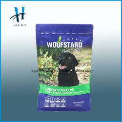 Impressão personalizada junta Eight-Side fecho resselável Dog tratar Pet Food Package