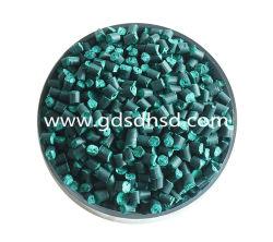 La couleur verte Masterbatches plastique caoutchouc