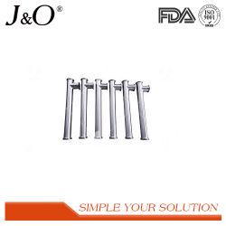 Aço inoxidável 01415-00 sanitárias para aquecimento de piso polido mate de Fechamento da Válvula de instrumentos Manifolds