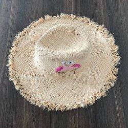 RaffiabastFedora Weaven handgemachte Sommer-Strandsun-Strohhüte