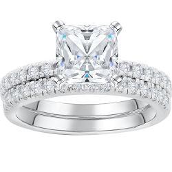 Fashion belas jóias Zircónia cúbicos 925 Sterling Silver Anel de Casal