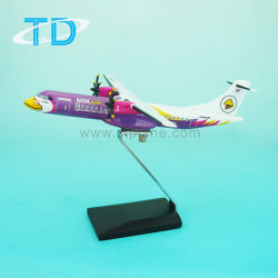 Aeroplano di modello del passeggero della resina di 1:150 18cm dell'aria Atr72-500 della NOK