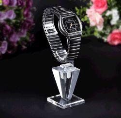 Style spécial en acrylique transparent Watch Display titulaire avec C Cercle
