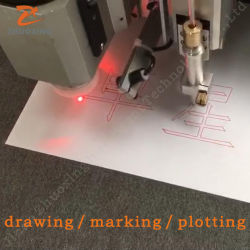 Vêtement de coupe de tissu chiffon Traceur de machine de coupe