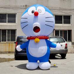 Dibujos animados Doraemon inflables inflables personalizada a los niños del kindergarten juegos de caracteres