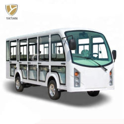 Design bonito 14 lugares Downtown Electric Excursão em ônibus para passageiros