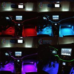 新しい視覚のファイバー従来のELを取り替える車のための装飾的なケーブルライトは車の大気ライトをワイヤーで縛る