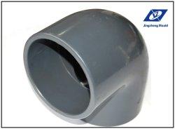 Plástico inyección de tubería de PVC codo adaptador de molde (JZ-P-C-03-003-C).