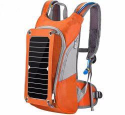 水和のぼうこうの貯水池のパックのウォーターバッグが付いている太陽ハイキングのバックパック