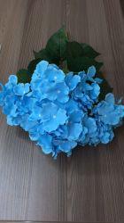 La soie artificielle de l'hortensia Fake fleurs pour les grossistes de décoration de mariage