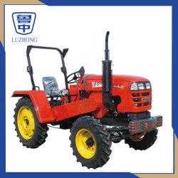 35HP 4WD Tractor van de Dieselmotor van Agri van het Landbouwbedrijf van de Aandrijving van de Riem de Mini met de Rem van de Luifel en van de Lucht