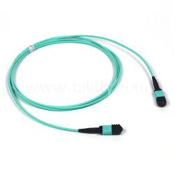 12/24 Koord van het Flard van de Vezel van de Kabel van de Boomstam Sm/Om3/Om4 van de Kern MPO/MTP Optisch