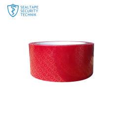 El total de transferencia parcial las etiquetas de seguridad Non-Residue cinta adhesiva