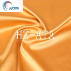Le spandex terne Tissu satin de torsion pour les femmes Vêtement