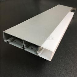 Het vierkant berijpte het AcrylProfiel van de Uitdrijving voor de LEIDENE VoorVerlichting van de Spiegel