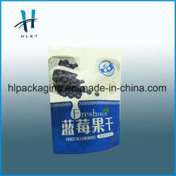 Commerce de gros d'aluminium de sac de plastique à fermeture ZIP Sac d'emballage alimentaire