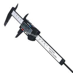 150mm 200mm 300mm en plastique étrier un pied à coulisse électronique numérique