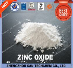 Tech Grade ZnO oxyde de zinc en poudre 99% Prix de l'usine