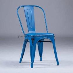 Restaurant Café Vintage industriel Tolix chaise métallique couleur antique