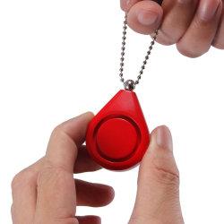 Keychain를 가진 새로운 도착 120dB 빨간 개인적인 경보는 를 위한 전송한다