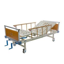 Remote Control Ss Side RailsおよびLinak MotorのOEM Three Function Hospital Medical Ward Patient Adjustable BedおよびEconomic Nursing Electric Bed