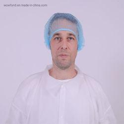 Cappellino monouso in tessuto singolo e doppio elastico