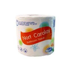 Maciez e durabilidade 4 camadas de papel higiénico macio Papel de capa de toucador