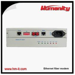 Человечности модем Ethernet для оптоволокна (HM-C118)