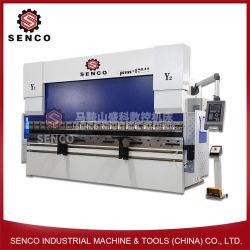 160X4000 lámina metálica de acero de prensa de doblado de SGS & certificado CE tándem de prensa de doblado CNC