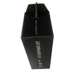 Caja de papel con asa para extintor de incendios