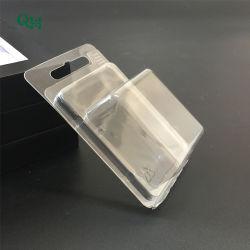 De transparante Plastic Verpakkende doos van Clamshell van het HUISDIER van de Blaar van de Douane voor elektronisch/kosmetisch/stuk speelgoed