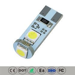 T10 Automotive bombilla LED de luz (T10-PCB-003Z5050P)