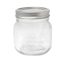 [مسن جر] زجاجيّة مع معدنة غطاء زجاجيّة تشويش [بنوت بوتّر] زجاج مرطبان
