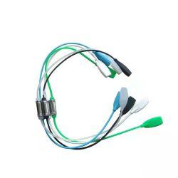 단색 안경 로프 체인 실리콘 안경 코드