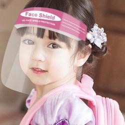 واقي الوجه القابل للضبط لترانزباتنت للأطفال، واقي الوجه الشفاف المضاد للضباب للأطفال، الواقي الواقي للوجه للحيوانات الأليفة للأطفال