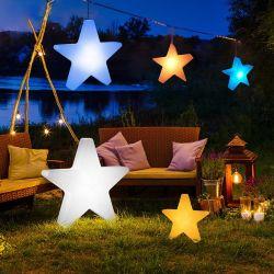 Im Freien LED-Weihnachtsstern-und Baum-Weihnachtslicht-Stern
