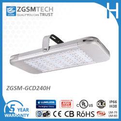 おおい、給油所の照明240W LED Lm79、ULおよびDlcの高い湾ライト