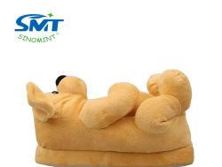 Formato de Cão Hand-Made Soft Kids calçado de interior animal para as mulheres