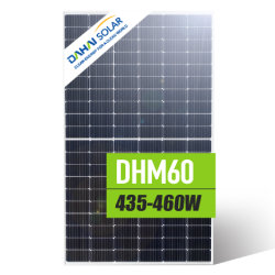 Vertrauenswürdig A Grade PERC Photovoltaik monokristalline 450W PV Solarzelle Energie-Energie-Paneele Modul Verkauf Bester Preis