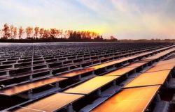 PVの錫の屋上システムのための陽極酸化されたアルミニウムが付いている太陽土台ラック