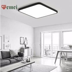 현대적인 LED 천장 램프 장식 슈퍼 씬 스퀘어 LED 조명 CE RoHS 하향 조명 바닥 램프 포함 표시등 LED 전구 홈 장식 호텔 라이트