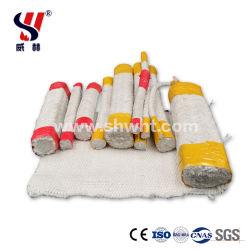 Isolamento térmico para fita de fibra cerâmica resistente a altas temperaturas e materiais refractários