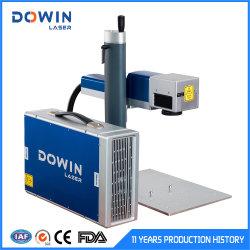 Weiß-Blaue Faser-Laser-Markierungs-Maschinen-Preis-Faser-Laserengraver-Laser-Markierung der Farben-20With30With50With70With100W auf Metall