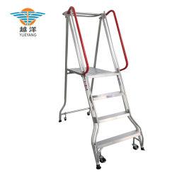 Étape de pliage de l'échelle de sécurité en aluminium pour plus d'Occasion