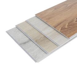 防水プラスチック SPC PVC ビニール製床張りのクリックインターロックがホテルに提供されている